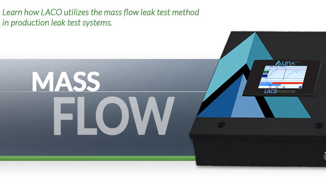 Header showing Mass Flow system