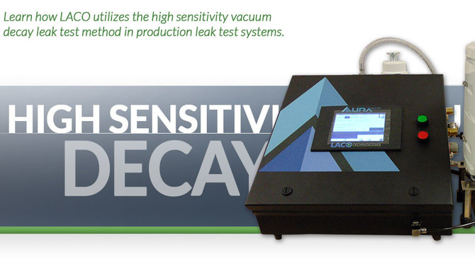 Header showing a high sensitivity system